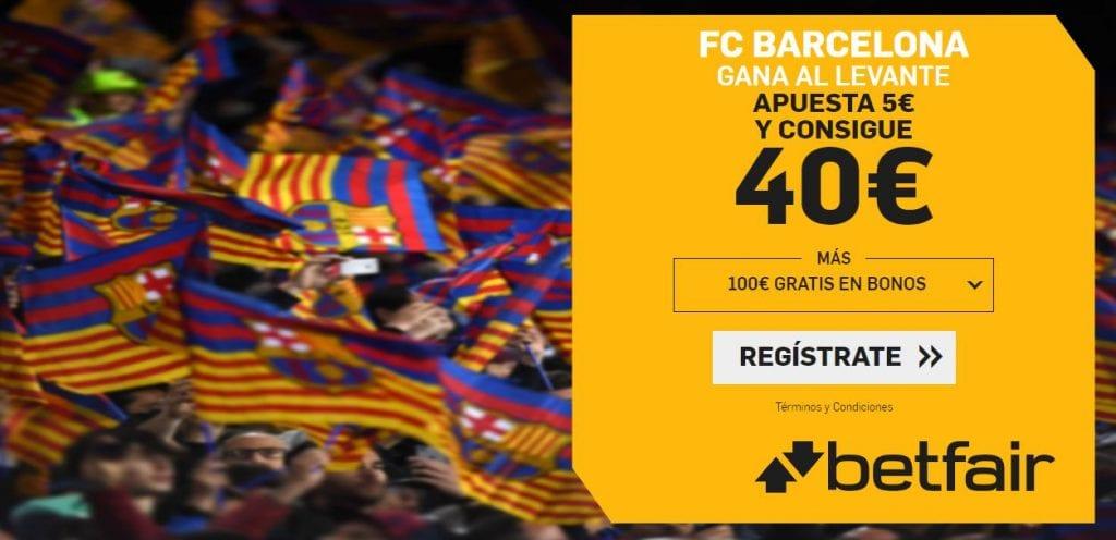 supercuota betfair barcelona levante