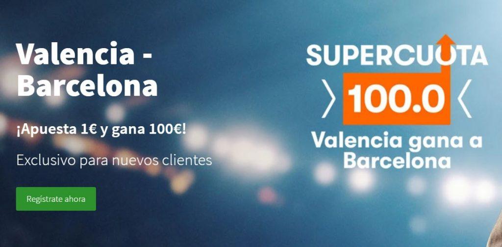 supercuota betsson valencia barcelona