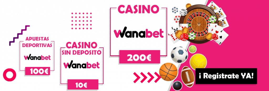 bonos de wanabet, apuestas deportivas , casino y bono sin deposito