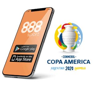 Descargar la app para Android de 888sport para la copa America