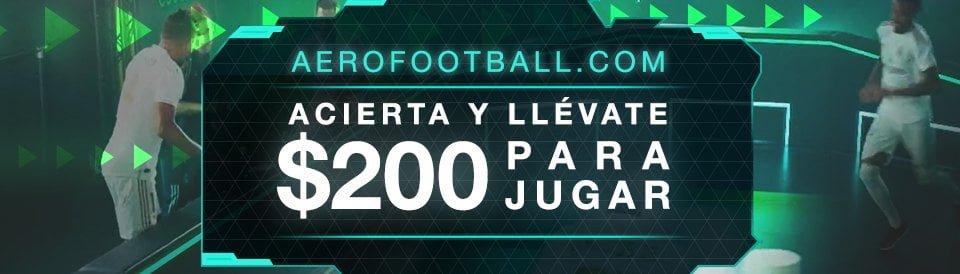 Aerofootball México Codere