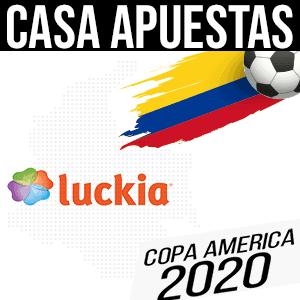 Luckia casa apuestas para la copa america 2020 colombia