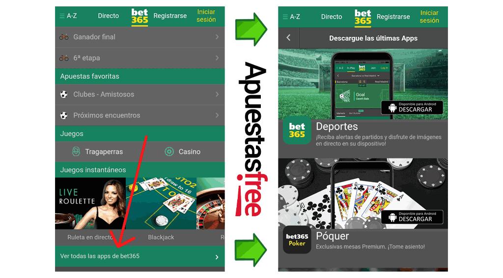 bet365 app descargar en Android