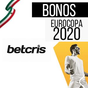 bono para mexico y para la eurocopa 2020 de la casa de apuestas betcris