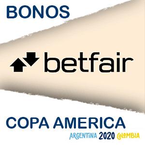 Betfair bono copa america del 2020