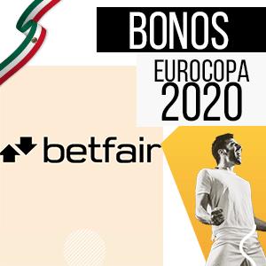 bono para mexico y para la eurocopa 2020 de la casa de apuestas Betfair