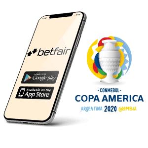 Descargar la app para Android de Betfair para la copa America