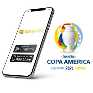 Descargar la app para Android de Bethard para la copa America