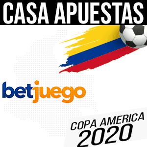 Casa de apuestas t para la copa america 2020 betjuego