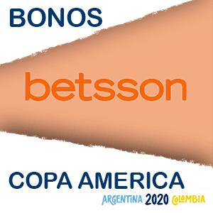 Betsson bono copa america del 2020