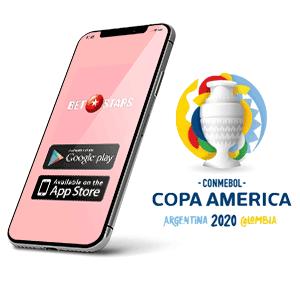 Descargar la app para Android de Betstars para la copa America