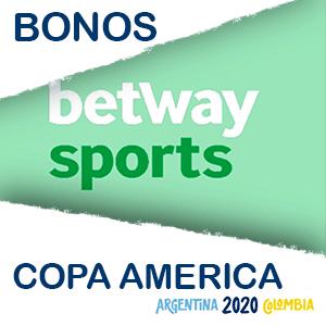 betway bono extra copa america 2020