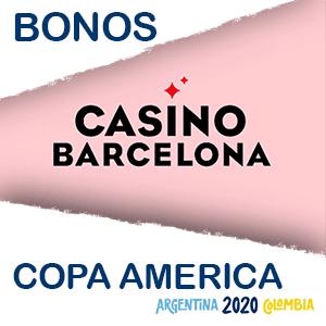 Casino Barcelona bono extra copa america 2020
