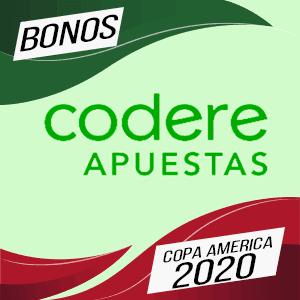 Bono Codere especial para la copa america 2020