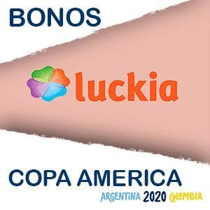 Luckia bono extra copa america 2020