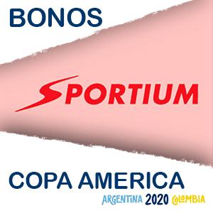 Sportium bono extra copa america 2020