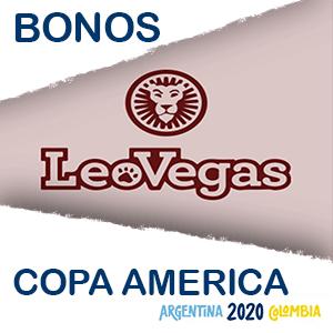 El bono de Leovegas para la copa america del 2020