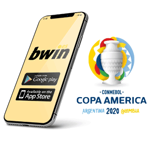 Descargar la aplicacion Android de Bwin para la copa America