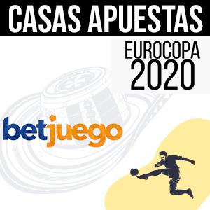 Casa de apuestas betjuego para la euro 2020