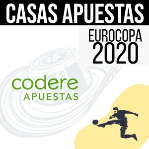 Casa de apuestas codere para la euro 2020