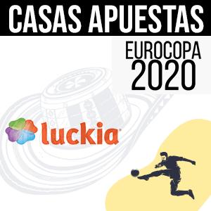 Casa de apuestas Luckia para la euro 2020