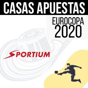 Sportium casa de apuestas en la Eurocopa 2020