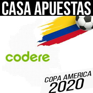 Codere casa apuestas para la copa america 2020 colombia