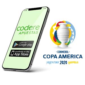 Descargar la aplicacion Android de Codere Apuestas para la copa America