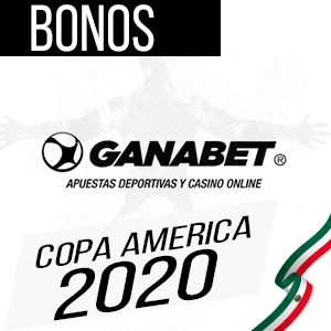Ganabet mejor casa de apuestas para hacer apuestas deportivas en la copa america 2020