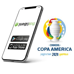 Descargar la aplicacion Android de Juegging para la copa America
