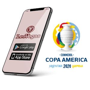 Descargar la app de Leovegas para copa america 2020