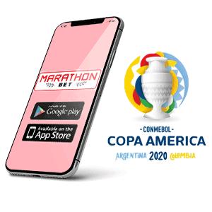 Descargar la app de Marathonbet para copa america 2020