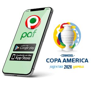 Descargar app y apk de PAF para copa américa 2020