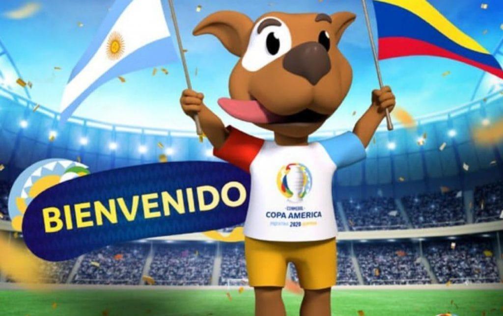 mascota copa américa 2020
