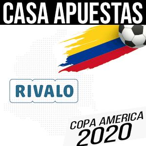 Casa de apuestas rivalo para la copa america 2020