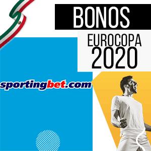 bono para mexico y para la euro 2020 de la casa de apuestas sportingbet