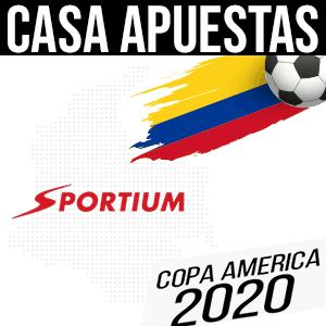 Casa de apuestas sportium para la copa america 2020