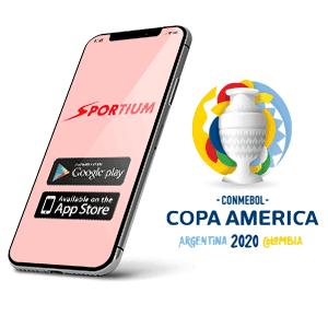 Descargar app y apk de Sportium para copa américa 2020