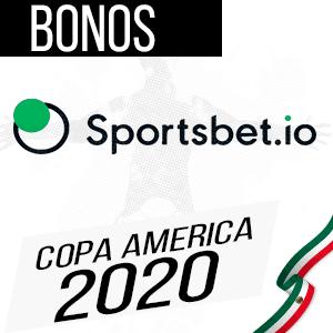 Sportsbet.io casa de apuestas para la copa america 2020