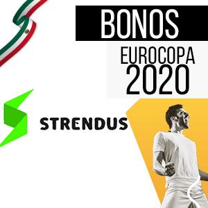 bono para mexico y para la euro 2020 de la casa de apuestas strendus