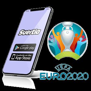 descargar la app de la casa de apuestas Suertia para la euro 2020