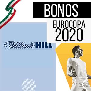 bono para mexico y para la euro 2020 de la casa de apuestas williamhill