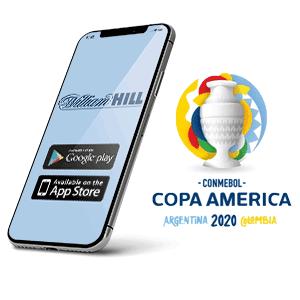 Descargar app y apk de William hill para copa américa 2020