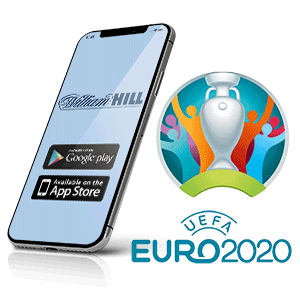 descargar la app de la casa de apuestas William Hill para la euro 2020