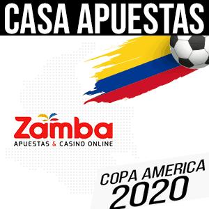 Casa de apuestas t para la copa america 2020 zamba
