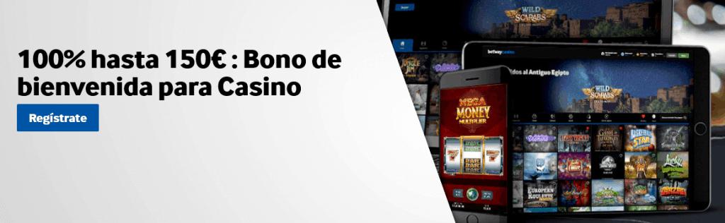 bono betway casino 150€