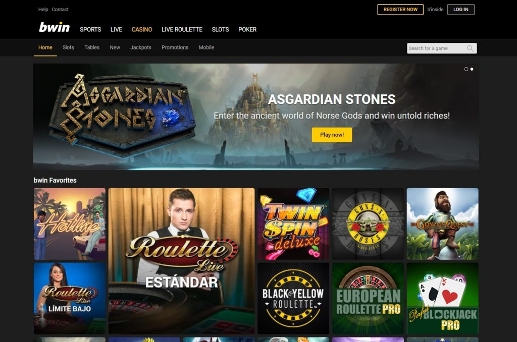 bwin código promocional casino