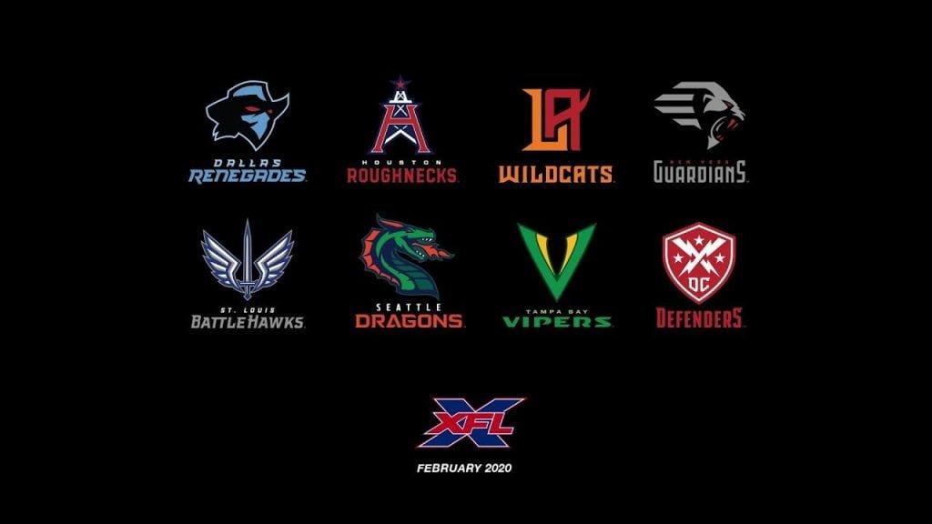 equipos XFL