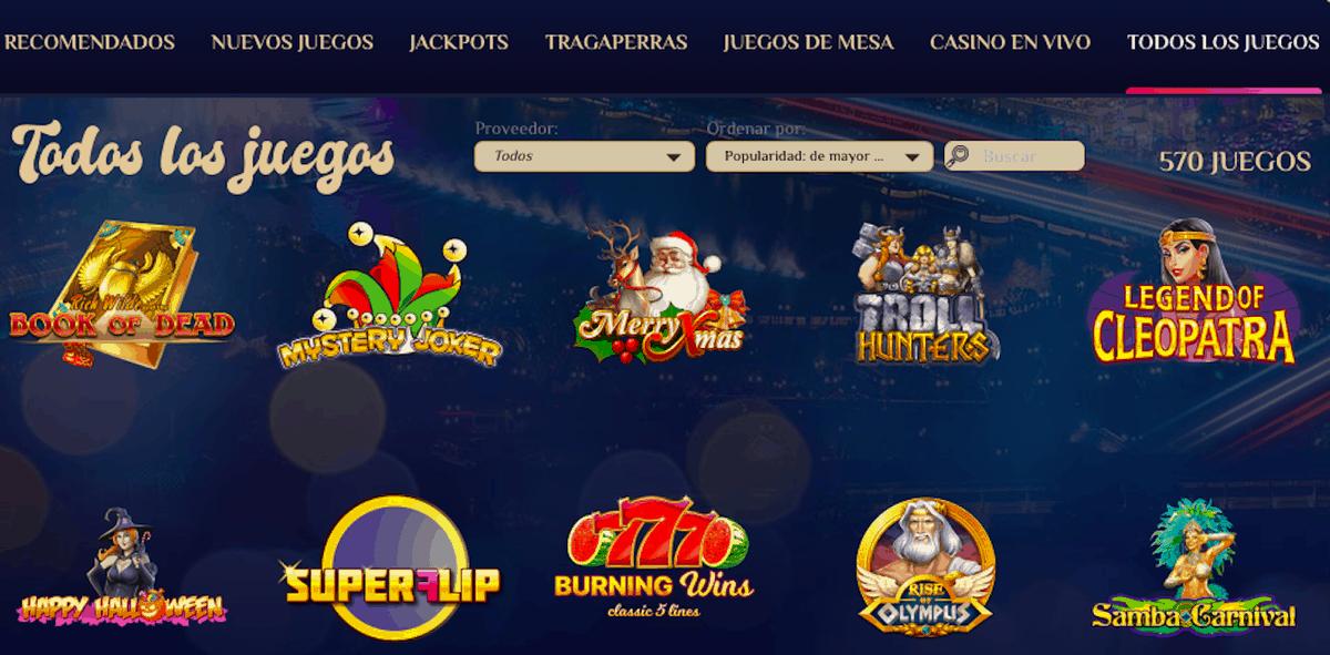 vegasplus.com Peru jackpots