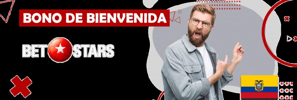 bono de bienvenida con su codigo promocional incluido para betstars en ecuador